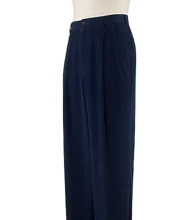 4ed98365ac3 Executive Traditional Fit Pleated Corduroy Pants CLEARANCE - All ...