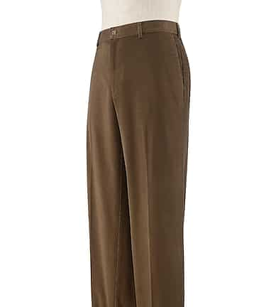 ab6a5041795d27 Executive Tailored Fit Plain Front Corduroy Pants Big & Tall CLEARANCE #2AVP