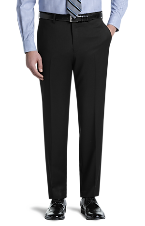 Men's Pants, Executive Collection Tailored Fit Dress Pants - Jos A Bank