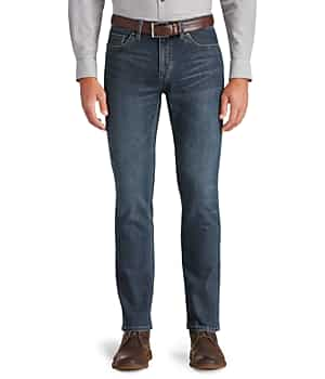 1905 Collection Tailored Fit 5-Pocket Jeans