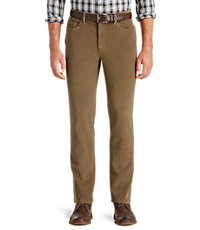c9bb58281519 1905 Collection Tailored Fit 5-Pocket Corduroy Pants CLEARANCE