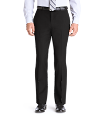 Men's Sale, Traveler Collection Tailored Fit Flat Front Washable Wool Dress Pants - Jos A Bank