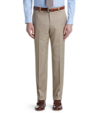 70dfe1d14c Signature Collection Tailored Fit Flat Front Pants