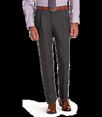 6a2517fd04 Men's Pleat Front Dress Pants, Slacks & Trousers | JoS. A. Bank