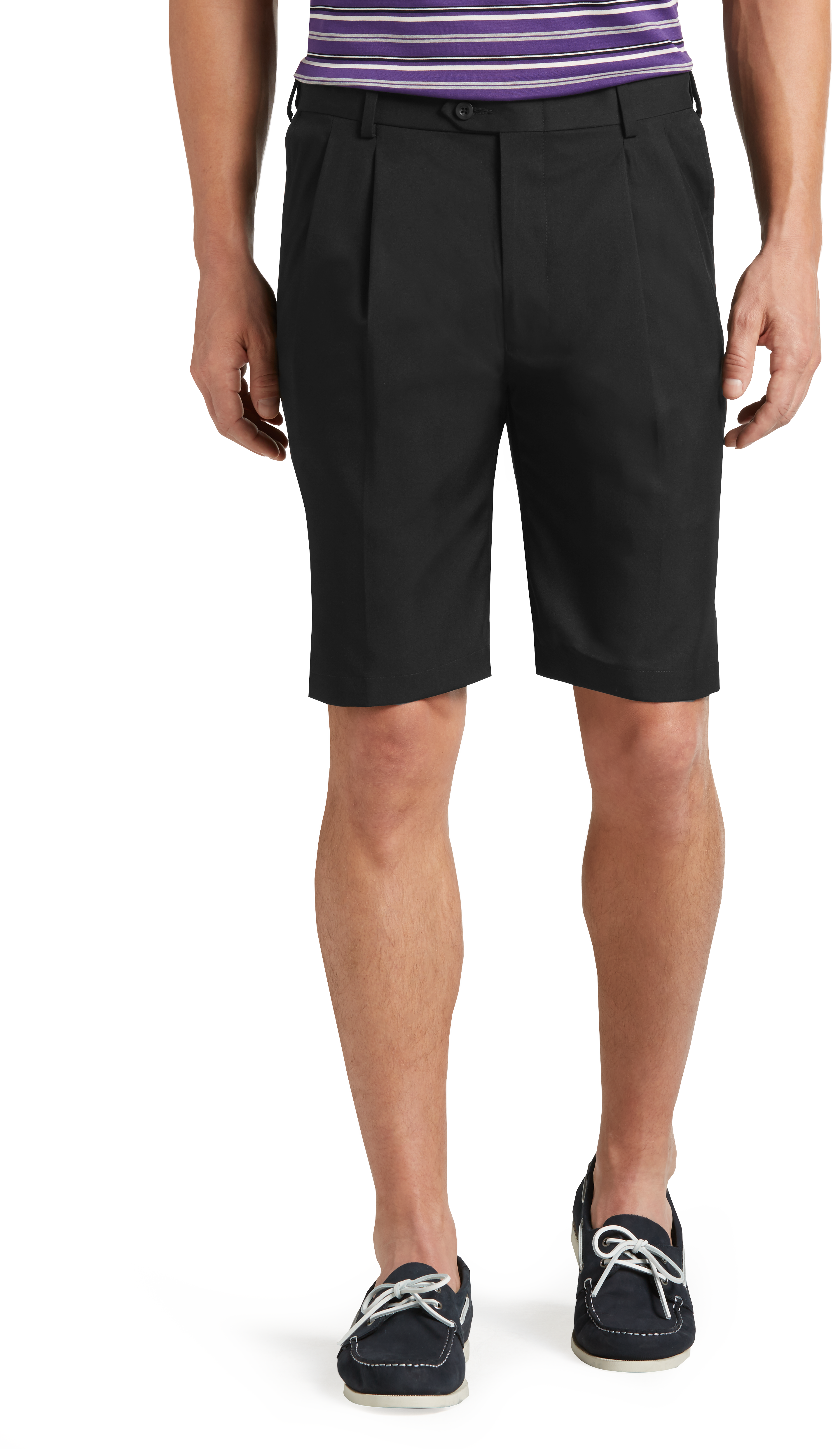 08ea16c8dd27 David Leadbetter Traditional Fit Pleated Front Performance Golf Shorts  CLEARANCE  2JCE
