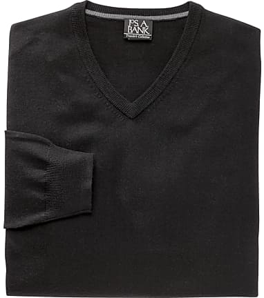 c2d23d32691a Traveler Collection Merino Wool V-Neck Sweater - Big & Tall - New ...