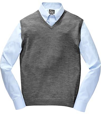 654d6468b3b Traveler Collection Washable Merino Wool Sweater Vest - Traveler ...