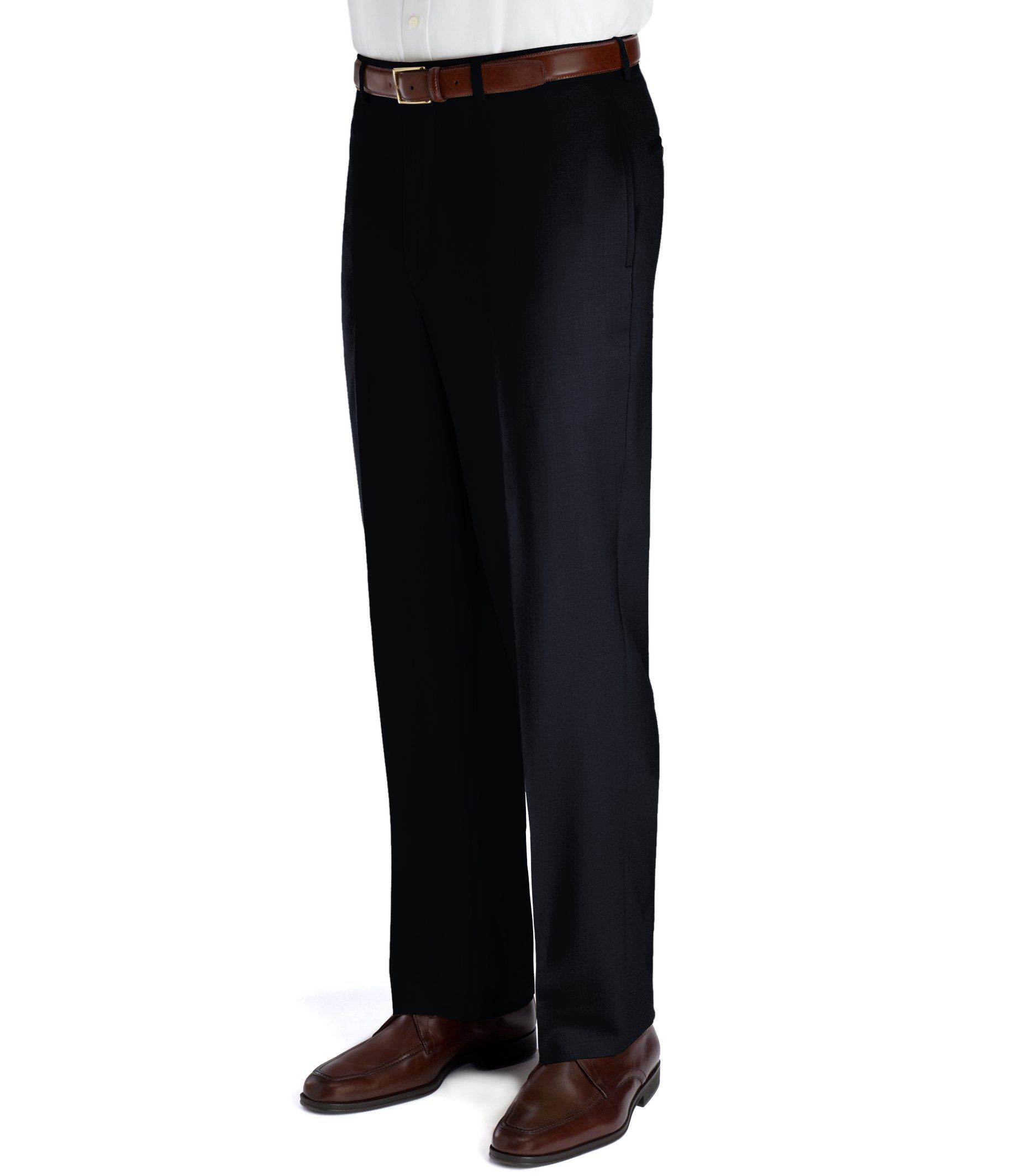 9761ae04376d Executive Collection Traditional Fit Flat Front Dress Pants CLEARANCE  2J8M