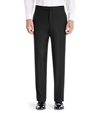 Men's Suits, 1905 Collection Tailored Fit Flat Front Tuxedo Separate Pants - Jos A Bank
