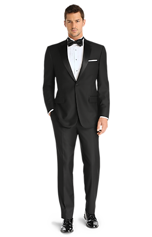 Men's FLYOUT_CATEGORY, Signature Collection Traditional Fit Tuxedo - Big & Tall - Jos A Bank