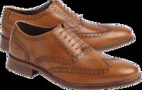 Cole Haan Men's Williams Wingtip Oxford Shoes (Tan)