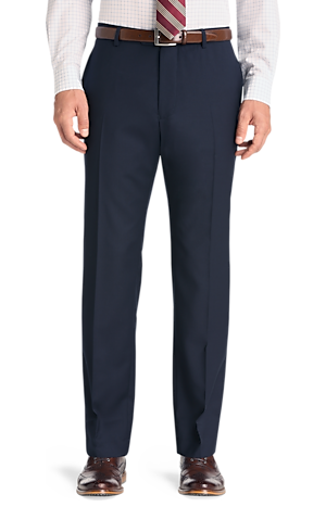 Men's Clearance, 1905 Collection Slim Fit Flat Front Suit Separate Pants CLEARANCE - Jos A Bank