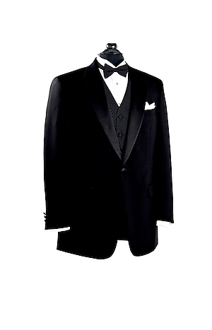 Men's Clearance, Black Notch Collar Tuxedo Jacket CLEARANCE - Jos A Bank