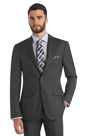 Men's FLYOUT_COLLECTION, Traveler Collection Regal Fit Suit Separate Jacket - Jos A Bank