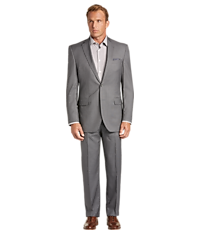 Signature Imperial Blend Traditional Fit Micro Stripe Suit