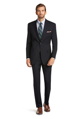 Men's Sale, 1905 Collection Tailored Fit Textured Suit - Big & Tall - Jos A Bank