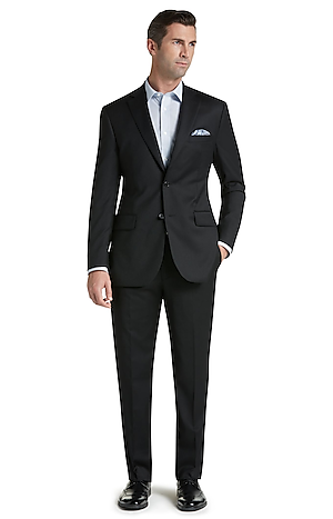 Men's Suits, Signature Collection Tailored Fit Suit - Jos A Bank