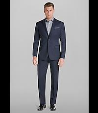 Men's Suits, Travel Tech Collection Slim Fit Micro Stripe Suit - Jos A Bank