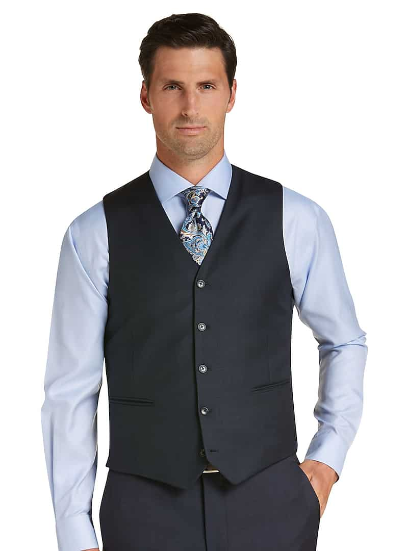 Traveler Suit Separates Vest (Blue)