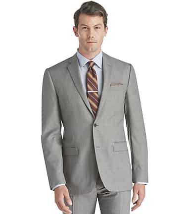 a691818b1399 Traveler Collection Slim Fit Sharkskin Suit Separate Jacket - Big & Tall  #3FTN