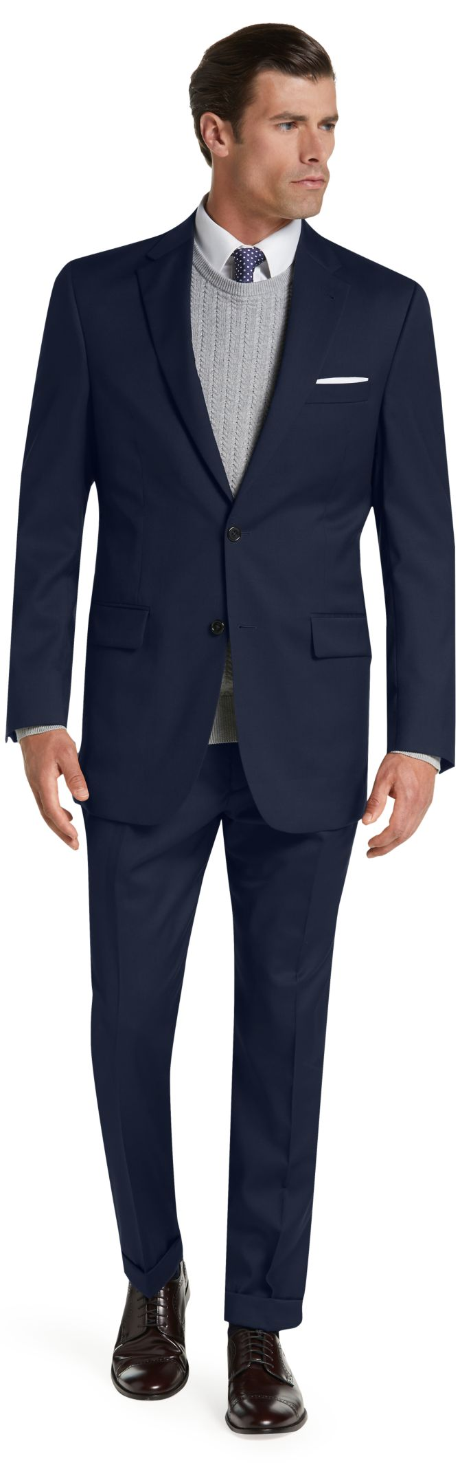 Signature Collection Traditional Fit Suit (various colors)