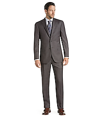 a0bdfae88f Reserve Collection Slim Fit Sharkskin Suit CLEARANCE