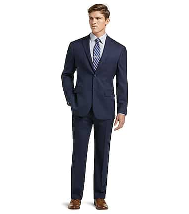 a9426dc00e1 1905 Collection Tailored Fit Herringbone Suit