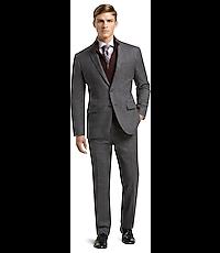 1905 Collection Slim Fit Plaid Suit