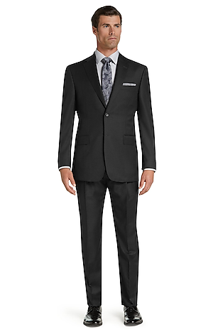 Men's FLYOUT_COLLECTION, Signature Gold Collection Traditional Fit Suit - Big & Tall - Jos A Bank