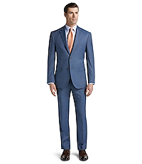 Reserve Collection Tailored Fit Glen Plaid Suit - Big & Tall CLEARANCE