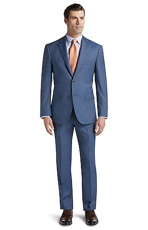 Men's Clearance, Reserve Collection Tailored Fit Glen Plaid Suit CLEARANCE - Jos A Bank