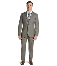 a526f717707b 1905 Collection Tailored Fit Glen Plaid Suit with brrr° Comfort
