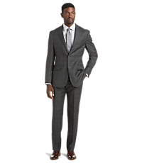 outlet sale los angeles great variety models Traveler Collection Tailored Fit Windowpane Suit