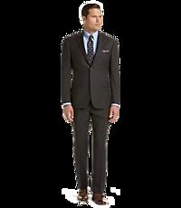 Men's Sale, Traveler Collection Tailored Fit Glen Plaid Suit - Jos A Bank