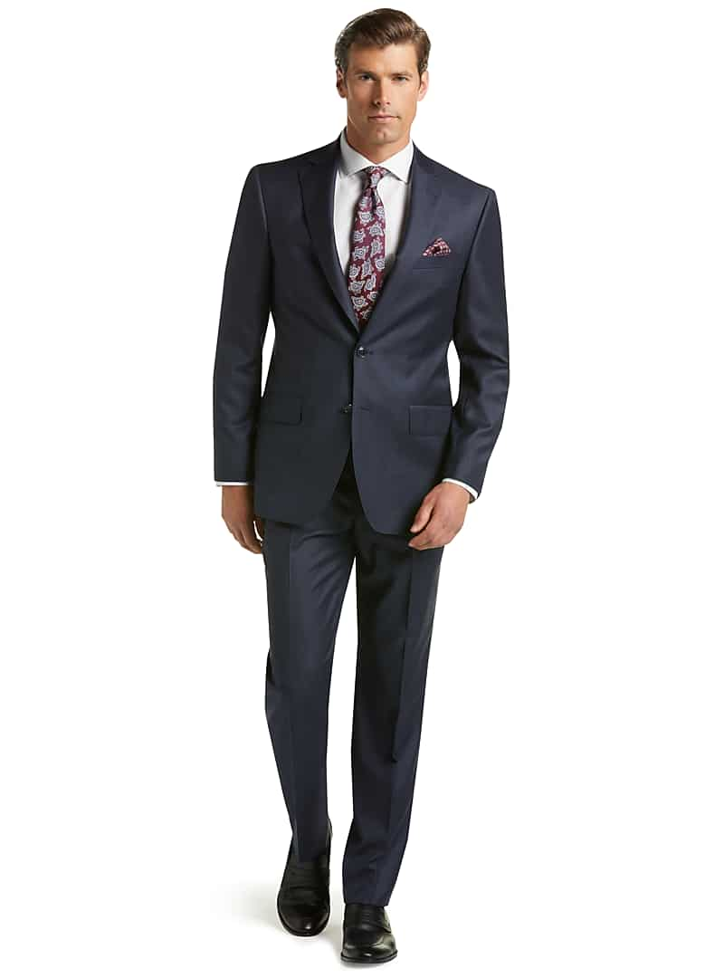 Reserve Collection Tailored Fit Check REDA 1865 SustainaWool? Suit
