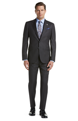 Men's Special Categories, Reserve Collection Tailored Fit Pinstripe Liberty Suit - Big & Tall - Jos A Bank