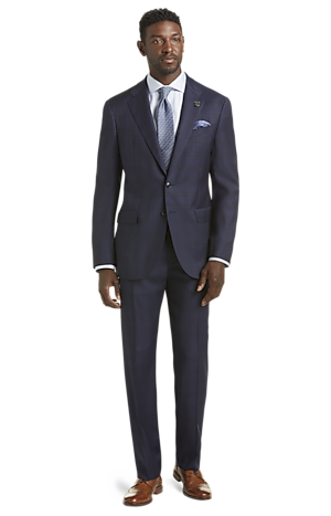 Men's Special Categories, Reserve Collection Tailored Fit Plaid Liberty Suit - Big & Tall - Jos A Bank