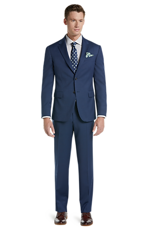 Men's Clearance, Jos. A. Bank Tailored Fit Herringbone Washable Wool-Blend Suit CLEARANCE - Jos A Bank