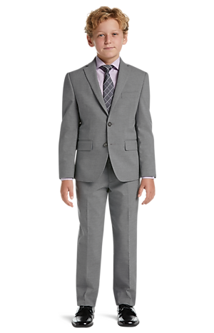 Men's Suits, 1905 Collection Boys Mini Check Suit Separates Jacket - Jos A Bank