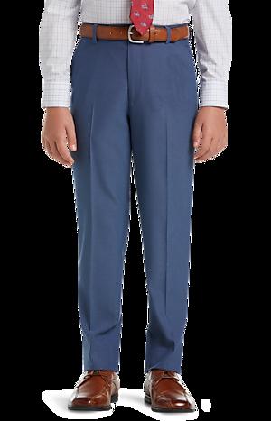 Men's Suits, 1905 Collection Boys Mini Tic Suit Separates Pant - Jos A Bank