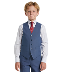 Men's Sale, 1905 Collection Boys Mini Tic Suit Separates Vest - Jos A Bank