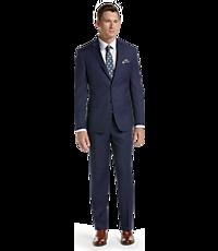 Men's Suits, Executive Collection Tailored Fit Glen Plaid Suit - Jos A Bank