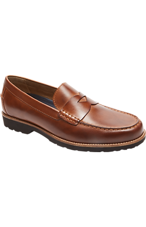 Men's Clearance, Rockport Style Seeker Penny Loafers CLEARANCE - Jos A Bank