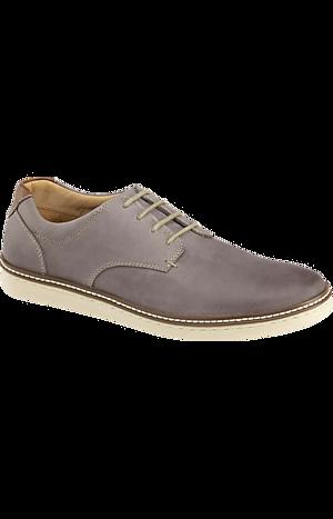 Men's Shoes, Johnston & Murphy McGuffey Leather Sneakers - Jos A Bank
