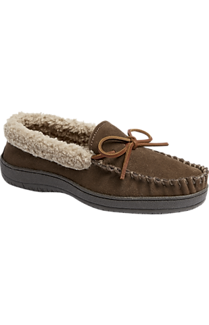 Men's Clearance, Jos. A. Bank Woodridge Moccasin Slippers CLEARANCE - Jos A Bank