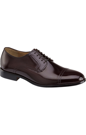 Men's Shoes, Johnston & Murphy Bradford Cap Toe Oxfords - Jos A Bank
