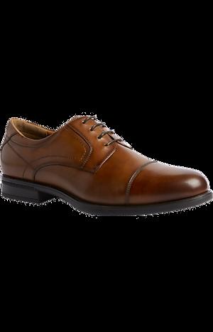 Men's Shoes, Florsheim Finance Cap Toe Oxfords - Jos A Bank