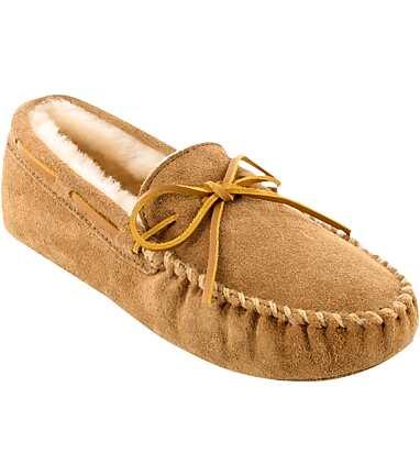 d11a20dff3f4d5 Minnetonka Sheepskin Soft Sole Moccasins - All Shoes | Jos A Bank