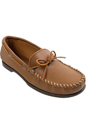 Men's Shoes, Minnetonka Leather Moccasins - Jos A Bank