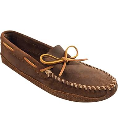 ef60b43549838e Minnetonka Soft Sole Moccasin Slippers - All Shoes | Jos A Bank